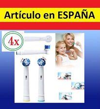 4x recambios SB20-A par cepillo de dientes electrico Oral B Vitality Braun SB20A