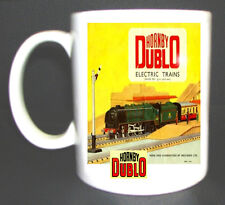 HORNBY DUBLO TRAIN SET COLLECTORS MUG - ADD NAME FOR FREE - RAILWAY TRIANG, GIFT