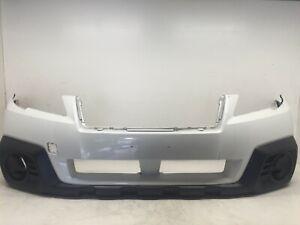 Front Bumper Cover Subaru Outback Wagon 2013 2014 57704AJ12A OEM