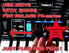 Usb thumb jazz,standard songs backtracks for accordion Roland Fr 1x 3x 8x 8xb 4x