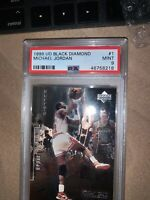 1998 Black Diamond Michael Jordan #1 PSA 9 MINT