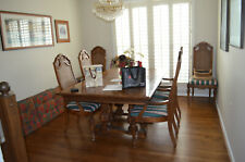 LAST DAY! French Provincial Dining Room Table with 6 chairs