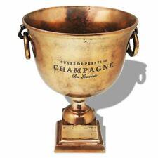 Vidaxl Refroidisseur À champagne Coupe de Trophée cuivre marron