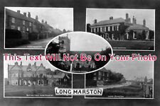 YO 706 - Views Of Long Marston, Yorkshire c1933 - 6x4 Photo