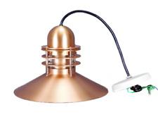 Louis Poulsen Nyhavn Copper Pendant Light Lamp Danish Modern