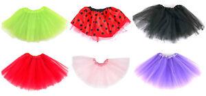 Childrens Fancy Dress Tutu Skirt Childs Girls Ballet Party Dance