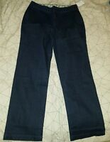NWT Women's Denim & Co. Jeans Dark Wash Size 8 company pants