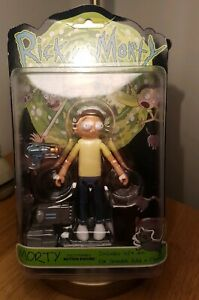 """Funko 5"""" Articulated Rick and Morty Action Figure Morty - Discontinued"""