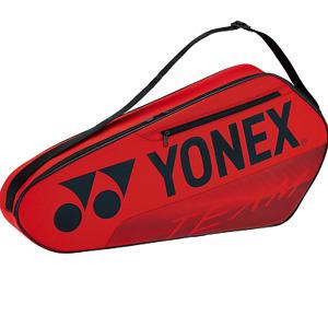 2021 YONEX 6-Racquet Team Racquet Bag, BA42123EX, 75 x 10 x 33.5 cm, RED