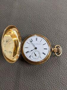 Hampden Champion 18s 7J Model 3 Hunter Pocket Watch Run's 1903