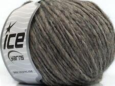 Peru Alpaca Worsted Yarn - Heather Grey #48622 50gr Merino Wool Alpaca Acrylic