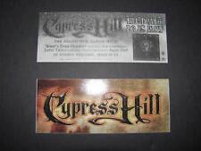Cypress Hill Til Death Do Us Part Sticker Music Promo