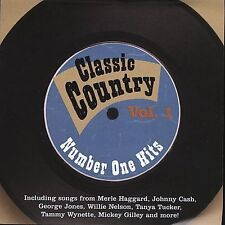 Classic Country: Number One Hits, V.1 - Various Artists - New Country Music CD