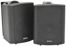Adastra BC5A Black Amplified Stereo Speakers PA Background Music Monitor DJ