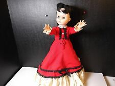 """Vintage 15"""" Vogue Dolls Inc Made In The Usa Hard Plastic Body Soft Head Doll"""