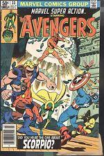 Marvel Super Action Featuring Avengers #33 Jul 1981 Scorpio