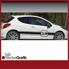 Aufkleber / Seitenstreifen / Peugeot / Dekor / #021
