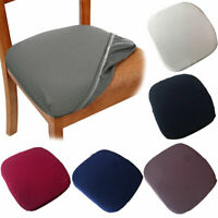 GI- New Anti-Slip Elastic Chair Cover Protector Kitchen Dining Room Seat Decor B