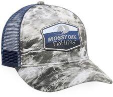 Mossy Oak Elements Agua Manta Cap with Navy Mesh Back