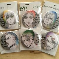Attack on Titan - Can Badge IG store Limited - Eren Levi Erwin Hans Armin Mikasa