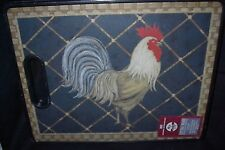 COUNTRY KITCHEN ROOSTER THEME EXTRA LARGE CUTTING BOARD-BOSTON WAREHOUSE-NEW