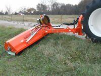 5' Roadside, Lakeside, Pond Bank Flail Mower: Peruzzo Elk Cross 1600, 40-60HP!