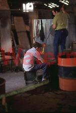 Viking Glass Blower Factory Worker West Virginia WV 1974 Kodak 35mm Slide 2
