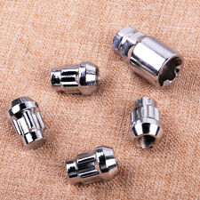4z Car Anti Theft Lug Nuts Bolts And 1pc Key Security M12 x P1.5 Wheel Lock Set