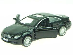 Mercedes C216 CL-Class CL 550 black modelcar 43032 Bburago 1:32