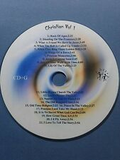 Vol 1 OldTime Christian Gospel Karaoke Songs CD+G