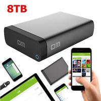 DM Q3C Wireless Wifi Extern Festplatte Gehäuse Box für 2.5inch HDD SSD