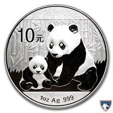 2012 1 oz Chinese Silver Panda Coin BU