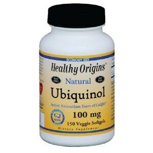 Ubiquinol 30 Softgels 100 MG by Healthy Origins