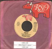 Valli, Frankie - Grease (Is The Word) Vinyl 45 rpm record Free Shipping