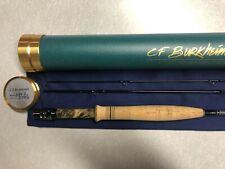 "Cf Burkheimer 489-3 Dal Fly Rod Burkheimer Deep Action Load Trout Rod 4wt 8'9"""