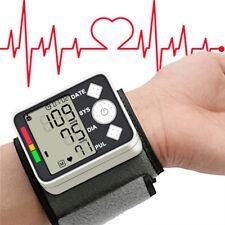Digital Wrist Blood Pressure Monitor Heart Rate Tester Measure Machine