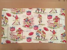 "NFL 1966 Collectible Football Youth Pillowcase - NFL Properties 18"" x 33"" Unique"
