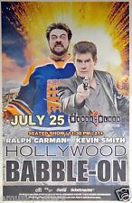 "RALPH GARMAN/KEVIN SMITH 2014 ""HOLLYWOOD BABBLE-ON"" SAN DIEGO POSTER - Comic-Con"