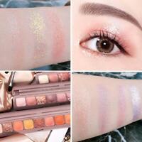 9 Farben Lidschatten-Palette Pulver wasserdicht wasserdicht langlebig