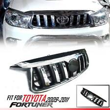 Front Chrome Grill Grille Prado Style Fit Toyota Fortuner KUN SW4 SUV 2009-2011