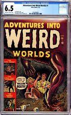ADVENTURES INTO WEIRD WORLDS # 1 CGC