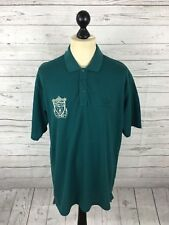 ADIDAS Liverpool FC Retro 90's Polo Shirt - XL - Green - Great Condition