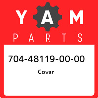 704-48119-00-00 Yamaha Cover 704481190000, New Genuine OEM Part