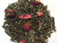 Sencha Kyoto Cherry Rose Green Loose Leaf Tea 4oz 1/4 lb