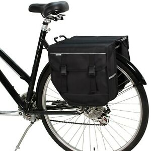 BikyBag Model M - Bicycle Double Panniers - Bike Bicycle Cycle Bag for Rear Rack