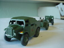 DINKY Militare dell'Esercito 25 Pounder campo unità PISTOLA CODICE 3