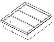 VAUXHALL FILER ELEMENT - GENUINE NEW - 39032998