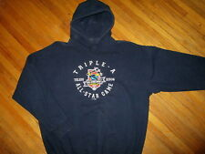 TOLEDO MUD HENS ALL STAR GAME HOODIE Minor League Baseball vtg '06 Sweatshirt XL