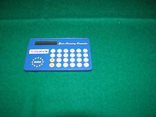 Euroconvertitore FUJIfilm funzionante Euro currency converter in plastica blu cm