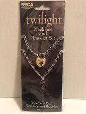 Twilight - Heart & Key - Necklace/Bracelet Edward
